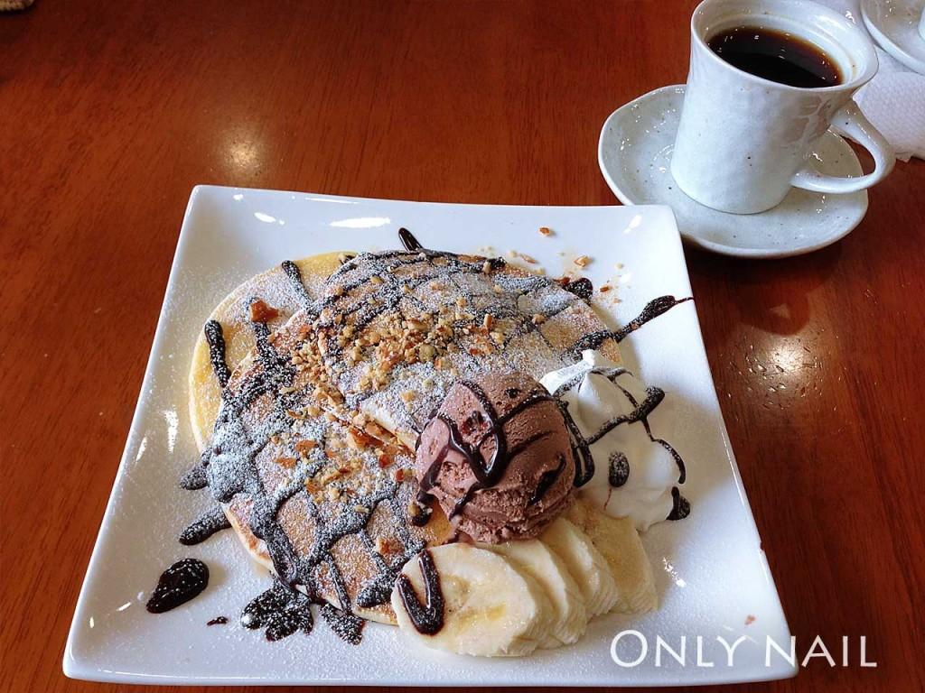 Cafe あいる・bee(アイルビー)のパンケーキ